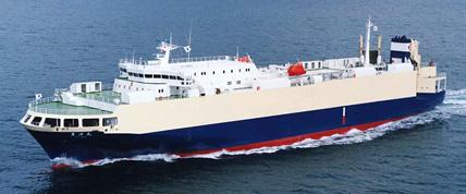 自動車運搬船 [802台積]